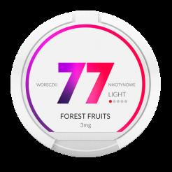 Nicotine pouches 77 Fruits des bois
