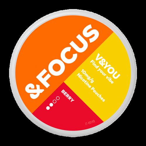 Nicopouches &FOCUS Berry 6mg/sachet
