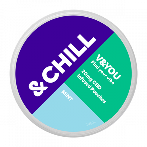 &CHILL Mint CBD 20 mg-sachet