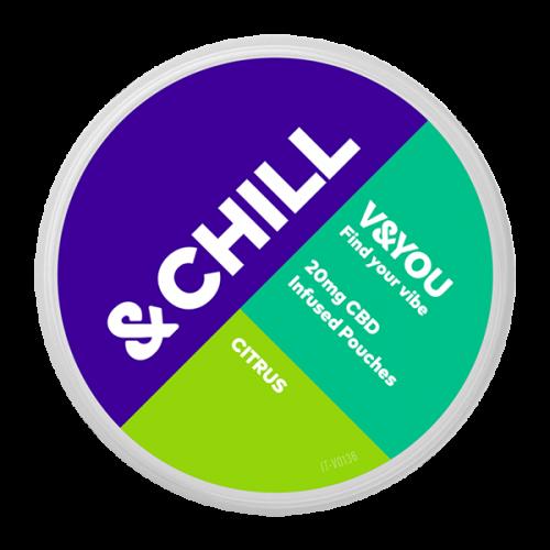 &CHILL Citrus CBD 20 mg-sachet