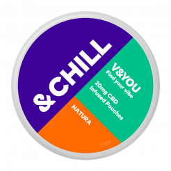 &CHILL Natura CBD 20 mg-sachet