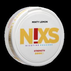 N!XS Citron et Menthe 9,6mg