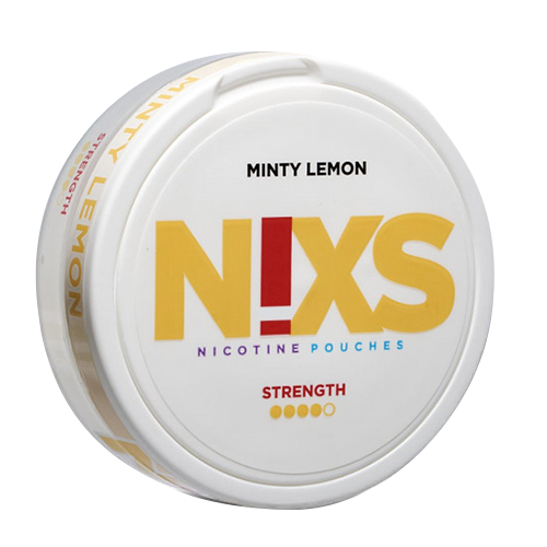 Nicotine pouches NIXS Minty Lemon - Nicopouches.fr