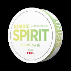 Nicotine pouches NORDIC SPIRIT Elderflower 9,1mg/sachet