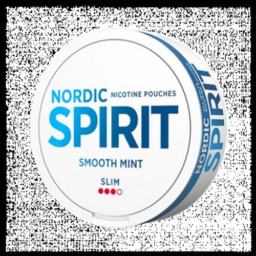 Nicotine pouches NORDIC SPIRIT Smooth Mint 9,1mg/sachet