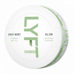 Nicotine pouches LYFT Slim Easy Mint Mellow 4mg/sachet
