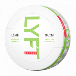 Nicotine Pouches LYFT Slim Lime 9,8mg/sachet