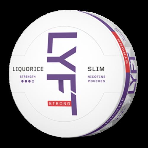 LYFT Slim Liquorice 9,8mg/sachet