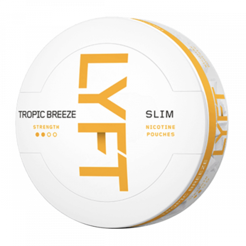Nicotine Pouches LYFT Slim Tropic Breeze 5,6mg/sachet