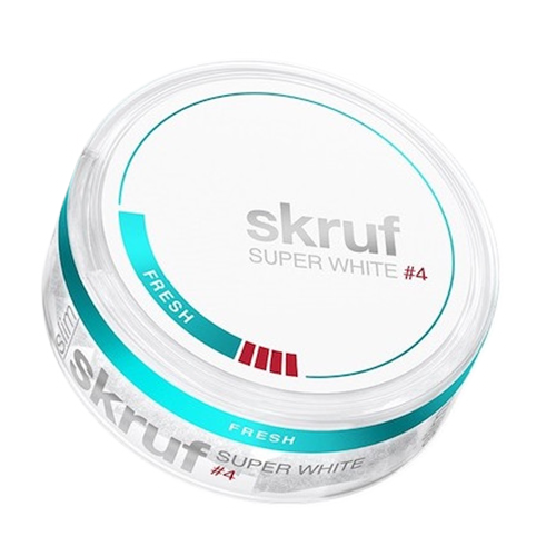 Skruf Super White Fresh 11,9mg/sachet
