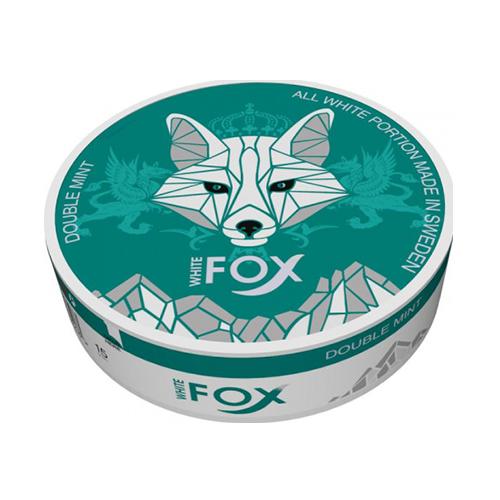 WHITE FOX Double Mint 12mg/sachet