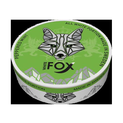 WHITE FOX Peppered Mint 12mg/sachet