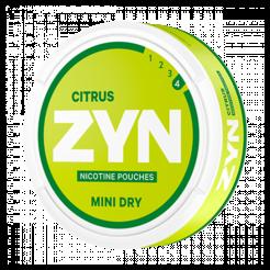 ZYN Mini Dry Citrus 6mg/sachet