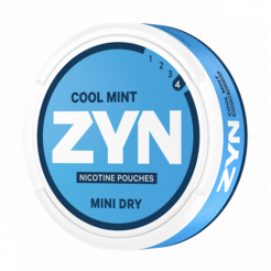 ZYN Mini Dry Cool Mint 6mg/sachet