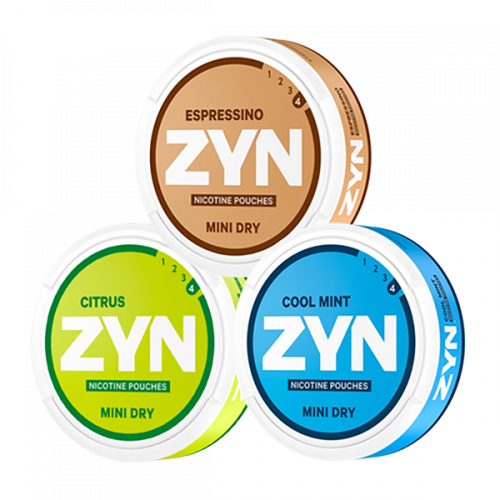 "ZYN Mini Pack Strong ""Best-sellers"""