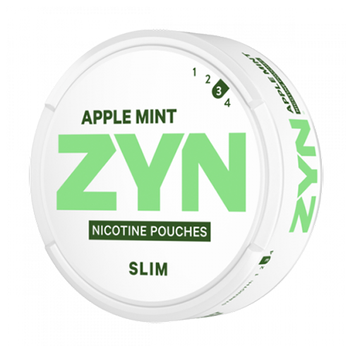ZYN Slim Apple Mint Strong 9,6mg/sachet