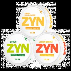 "Zyn Slim Pack Strong ""Agrumes"" 8 et 9,6mg"