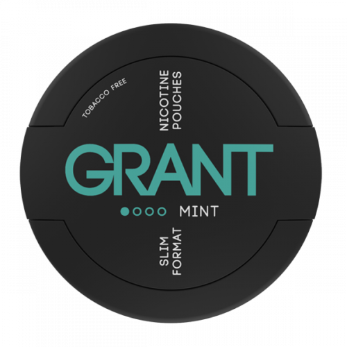 Grant Slim Mint 11,7 mg/sachet
