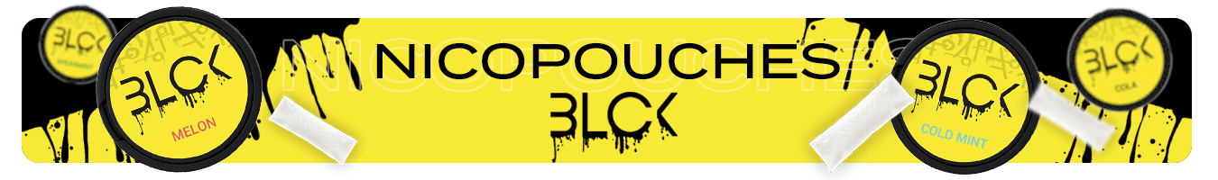 Nicotine pouches BLCK