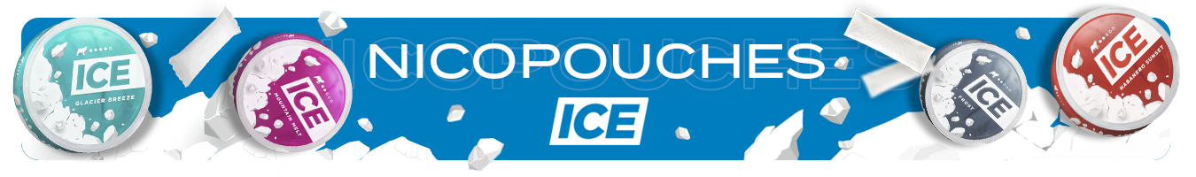 Nicotine pouches ICE
