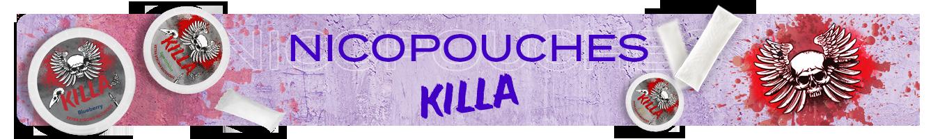 Nicotine pouches Killa