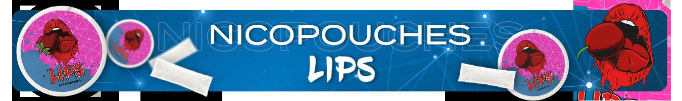 Nicotine pouches LIPS