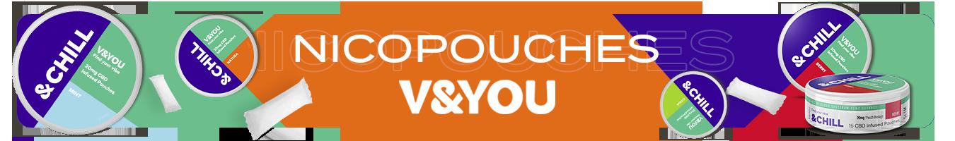 CBD pouches V&YOU